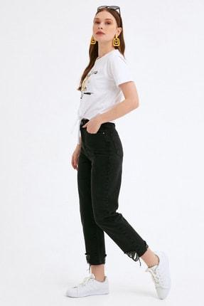 Fullamoda Kadın Paça Detaylı Pantolon 1