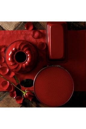 Karaca Retro Kırmızı Kek Seti 1
