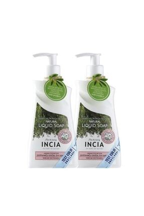 INCIA Incıa Hassas Ciltler Için Zeytinyağlı Sıvı Sabun 2x250 ml 0