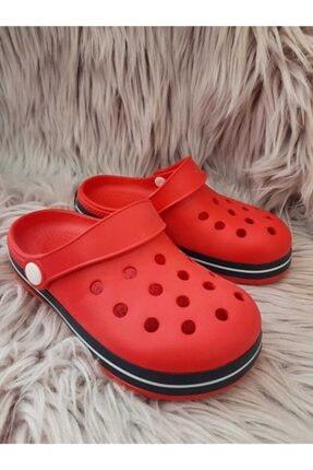 Akınalbella Çocuk Kırmızı Beyaz Lacivert Crocs Terlik 2