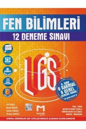 Mozaik Yayınları Mozaik 8. Sınıf Fen Bilimleri 12 Li Deneme 0