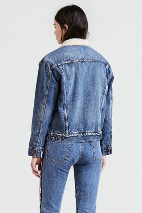 Levi's Kürklü Kadın Jeans Mont 1