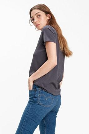 Levi's Kadın The Perfect Siyah T-shirt 17369-1328 3