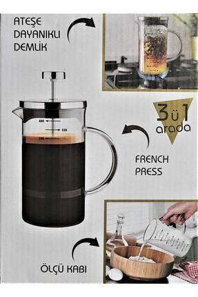 Cambu My Bottle 3'ü Bir Arada Borosilikat French Press 600 ml 1