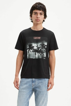 Levi's Erkek Graphic Crewneck T-Shirt 22491-0644 0