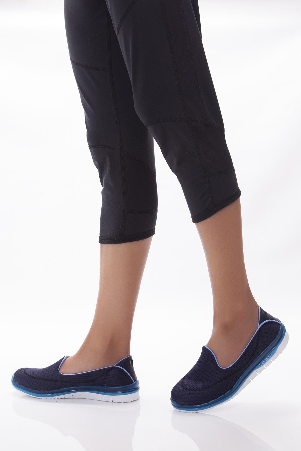 Deripabuc Lacivert Mavi Kadın Spor Babet Dp23-0201