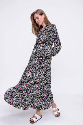 Bigdart Volanlı Tesettür Elbise 2
