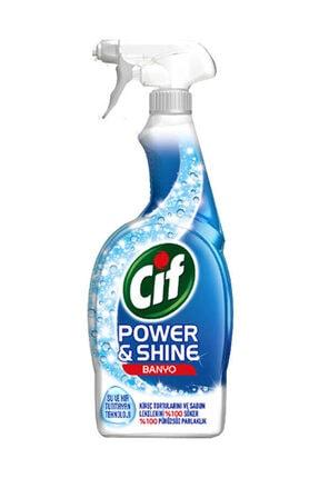 Cif Power & Shine Banyo Sprey Temizleyici 750 ml 2