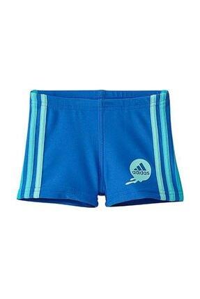 adidas Erkek Çocuk Yüzücü Mayosu Mavi Aw 3Sa inf Bx Z29646 0