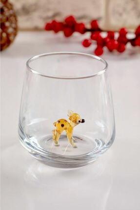 mosaicturk Hayvan Figürlü 6'lı Su Bardağı Seti (Lal Seri) 3