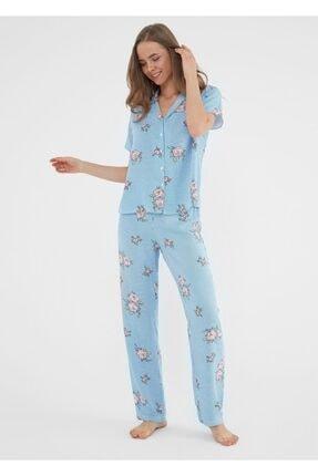 Suwen Etamine Maskulen Pijama Takımı 1
