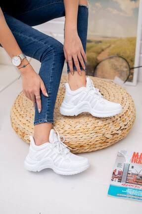 McDark Kadın Beyaz Sneaker 2