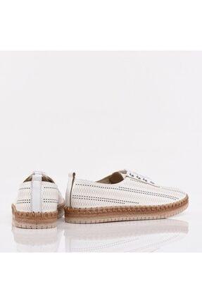 Hotiç Beyaz Yaya Kadın Günlük Ayakkabı 3