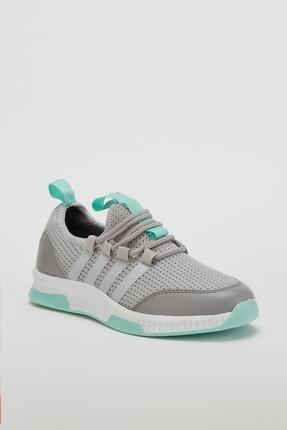Muggo Unisex Gri Sneaker Ayakkabı Mgforce01 1