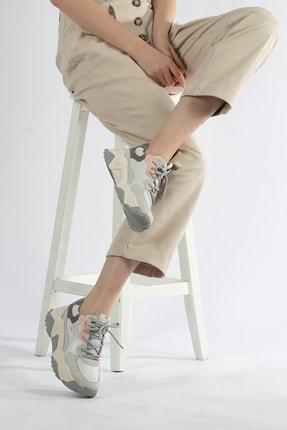 Tripy Kadın Dolgu Taban Günlük Sneaker Ayakkabı 1