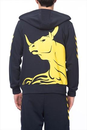 HUMMEL Erkek Sweatshirt Serhat Akın Zip Hoodıe 1