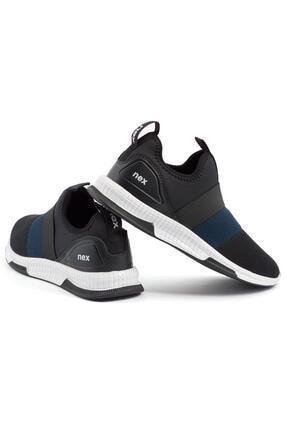 NEX 707 Siyah Lacivert Erkek Spor Ayakkabı 1