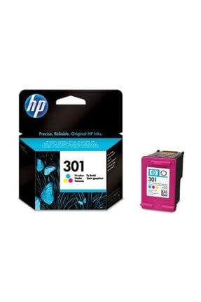 HP 301 165 Sayfa Kapasiteli Üç Renk Mürekkep Kartuşu CH562EE 0