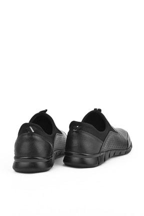 Ziya , Erkek Hakiki Deri Ayakkabı 111415 599295 Sıyah 4