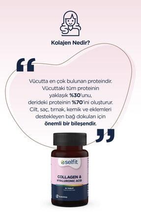 Eczacıbaşı Selfit Collagen & Hyaluronic Acid 30 Tablet -  Son Kullanma Tarihi: 02.2023 3