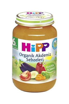 Hipp Organik Akdeniz Sebzeleri 190 gr 0