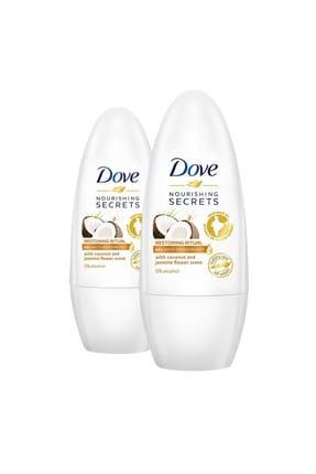 Dove Kadın Deodorant Hindistan Cevizi Rollon 50 ml x 2 0