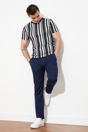 Picture of Açık Lacivert Erkek Chino Pantolon TMNSS21PL0615