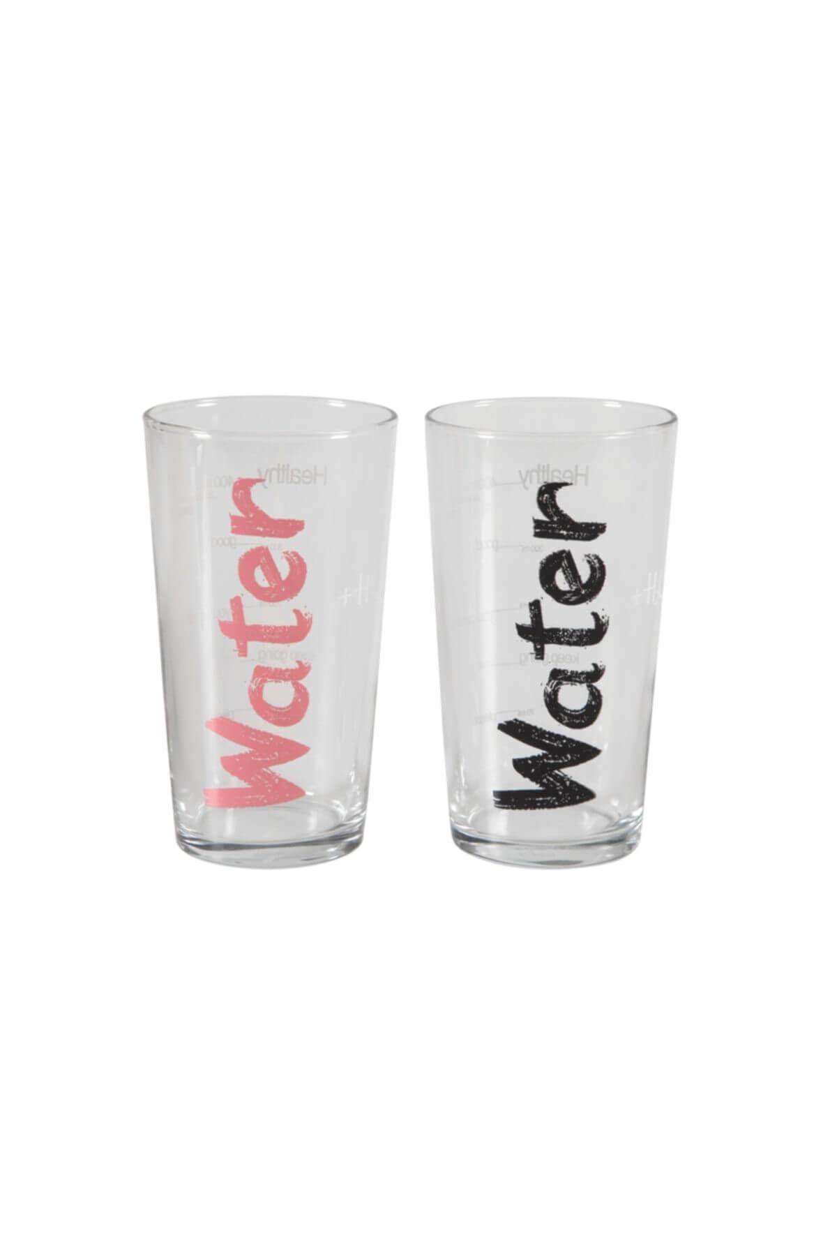 Water Bardak 570 ml 2'li Set -Siyah&Pembe 1202432001