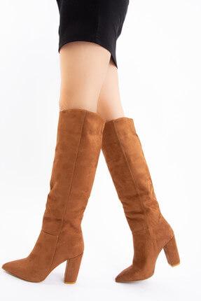 Fox Shoes Taba Kadın Çizme E922911502 0