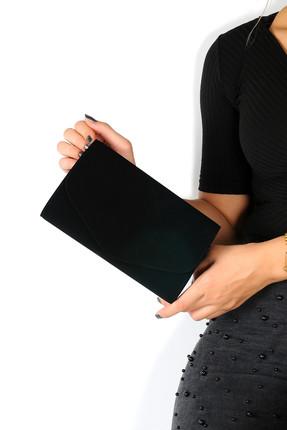 WMİLANO Siyah Kadın Portföy Çanta C0113-18 0