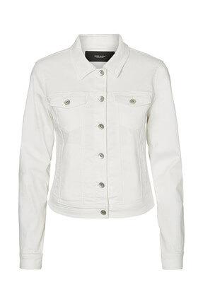 Vero Moda Kadın Beyaz Trençkot 10193085 0