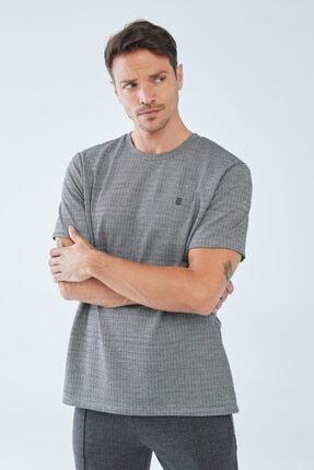 Boris Becker Erkek Kazayağı Desenli  T-shirt 0