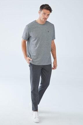 Boris Becker Erkek Kazayağı Desenli  T-shirt 1