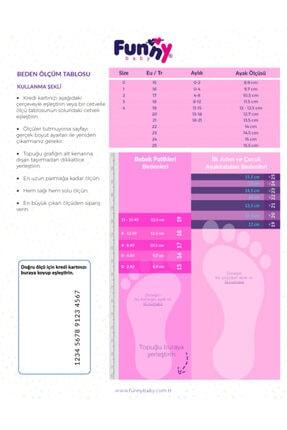 Funny Baby Lastikli Rugan Bebek Ayakkabısı 2