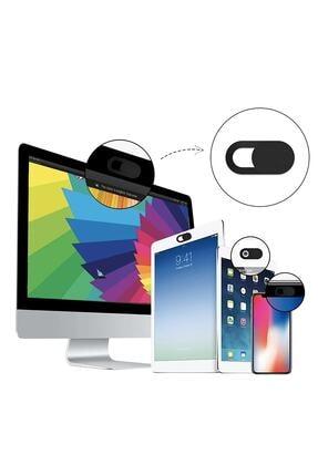 THREESTEP Pratik Web Kamera Kapatıcı - Ekstra Ince 0.7mm - Webcam Cover Gizliliğiniz Için Güvenli Kullanım 0
