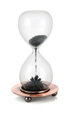 SUME Metal Manyetik Standlı Mıknatıslı Cam Kum Saati 1