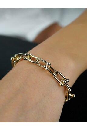 Altın Zincir Bileklik 10673