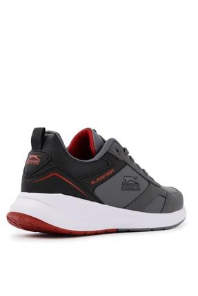 Slazenger Zero Sneaker Erkek Ayakkabı K.gri / Siyah 2