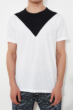 TRENDYOL MAN Beyaz Erkek T-Shirt TMNSS21TS1500 2