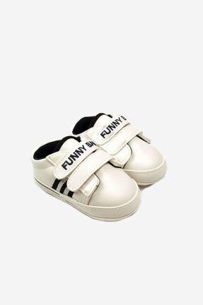 Funny Baby Lastikli Cırtlı Çocuk Yürüyüş Ve Spor Ayakkabısı 0