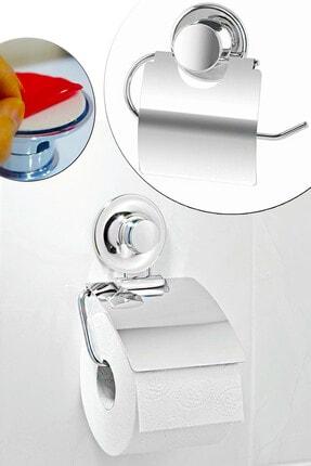 Helen's Home Yapışkanlı Metal Kapaklı Tuvalet Kağıtlık 0