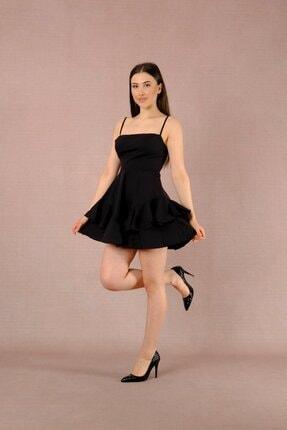 LAST LEO Siyah Elbise 0