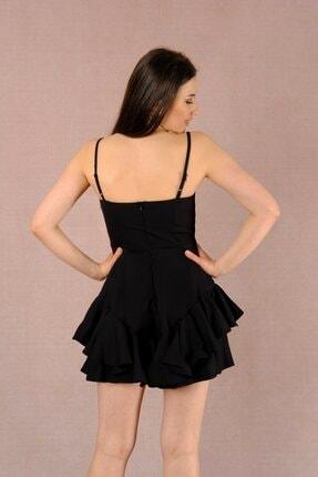 LAST LEO Siyah Elbise 2