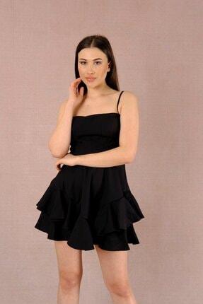 LAST LEO Siyah Elbise 3