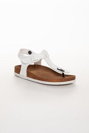 meyra'nın ayakkabıları Kadın Beyaz Klasik Sandalet 2