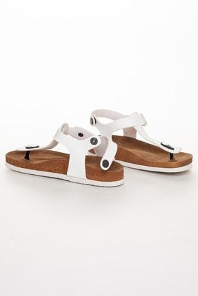 meyra'nın ayakkabıları Kadın Beyaz Klasik Sandalet 3