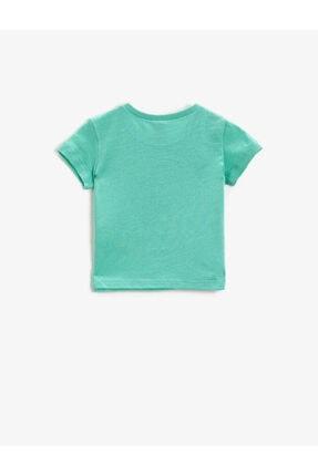 Koton Kız Çocuk Yeşil T-Shirt 1