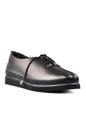 Pierre Cardin Kadın Platin Bağcıklı Günlük Ayakkabı 2