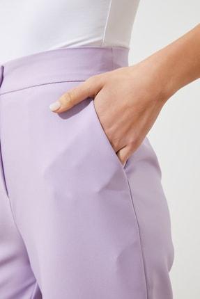 TRENDYOLMİLLA Lila Bol Paça Pantolon TWOSS19ST0179 3
