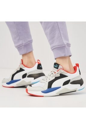 Puma X-RAY Beyaz Erkek Sneaker Ayakkabı 101085466 4